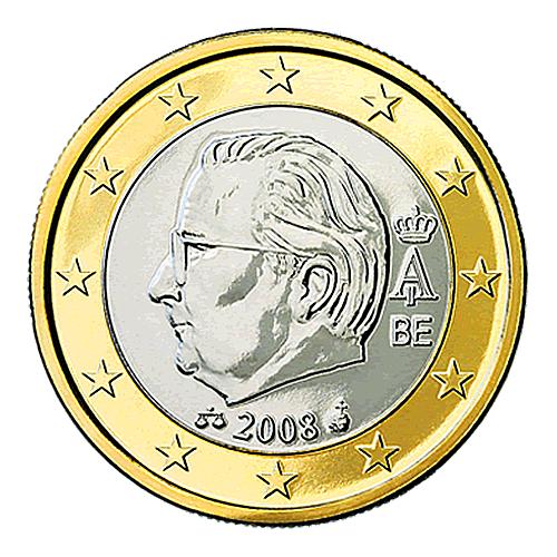 Belgische 2 Euro Münze