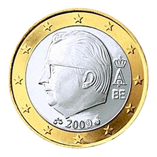 euro coins belgium 1 euro 2009 the black scorpion. Black Bedroom Furniture Sets. Home Design Ideas