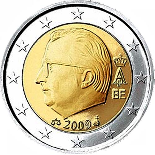 euro coins belgium 2 euro 2009 the black scorpion. Black Bedroom Furniture Sets. Home Design Ideas