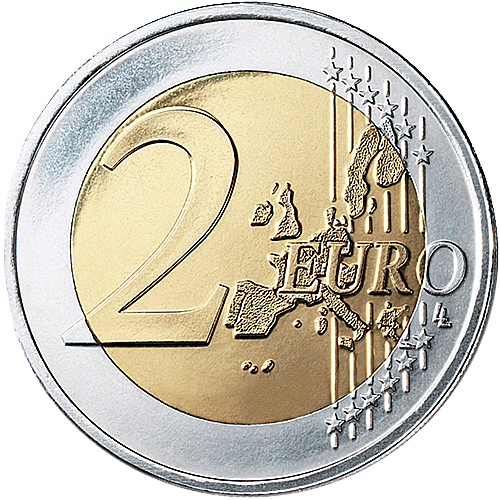 euro coins europe 2 euro 2002 the black. Black Bedroom Furniture Sets. Home Design Ideas