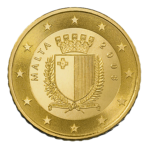 Euro Coins Malta 50 Euro Cent 2008 Yuribs Com The Black Scorpion